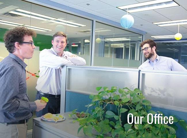 Peek inside our office